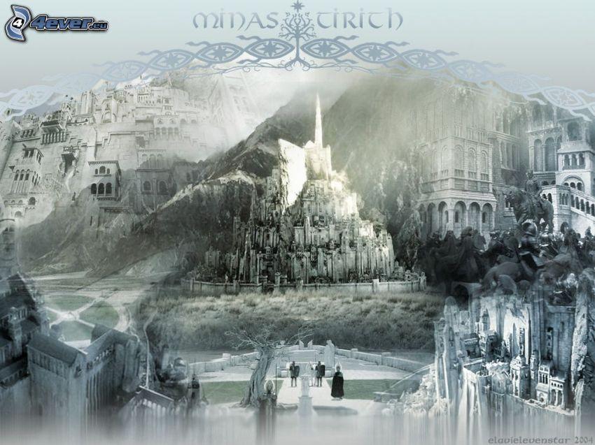 Minas Tirith, fantasía