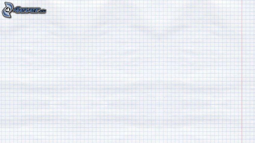 papel, cuadrados, fondo blanco