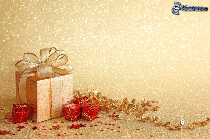 regalos, estrellas
