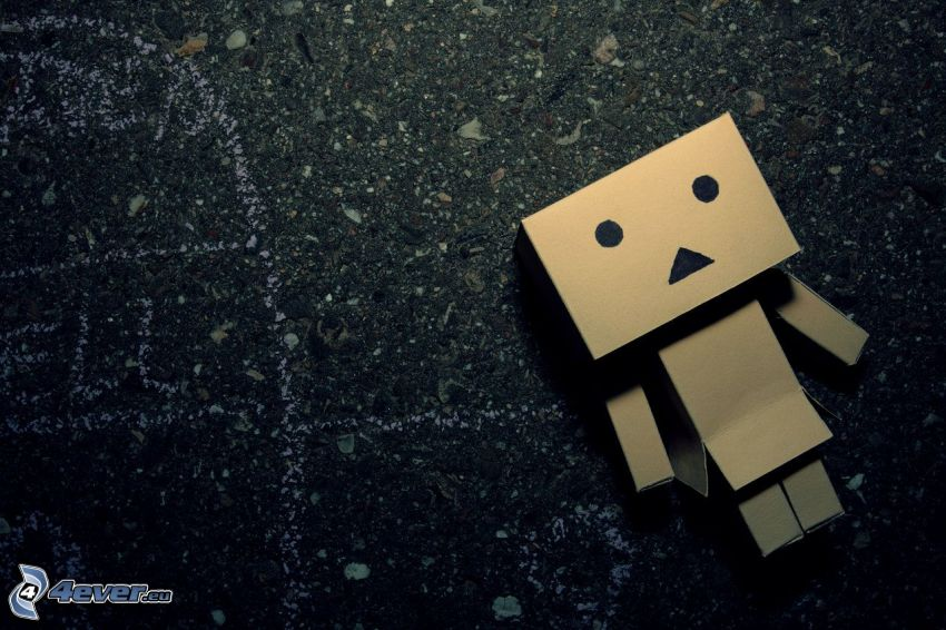 robot de papel, soledad