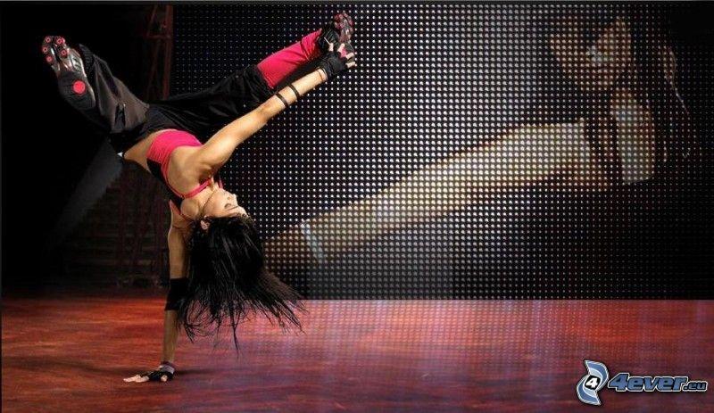 Sofia Boutella, baile, bailarina, breakdance