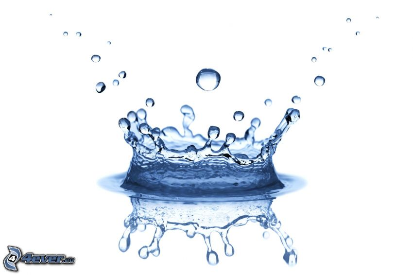splash, agua