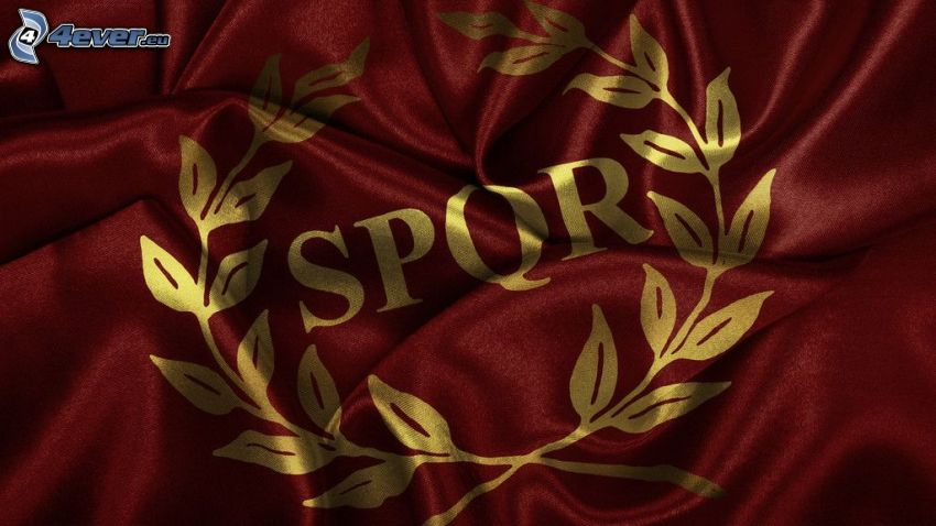 SPQR, bandera
