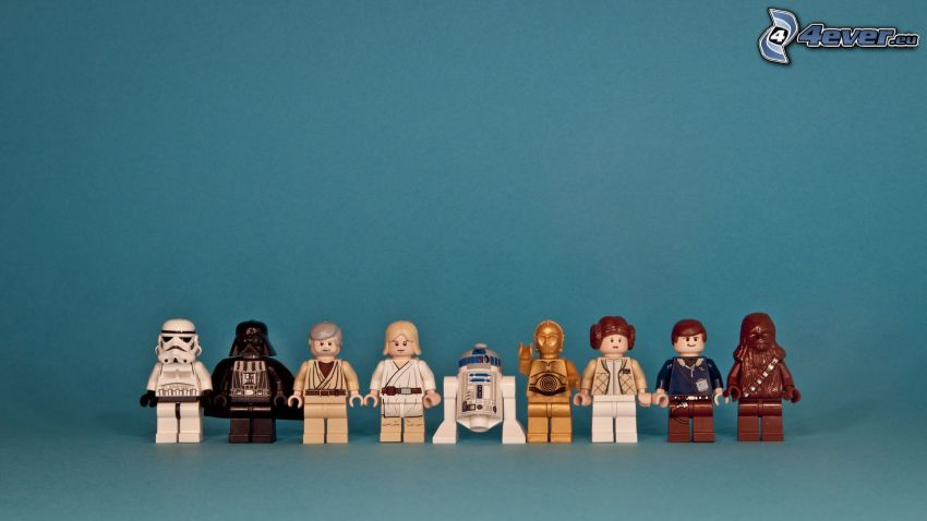 Star Wars, caracteres