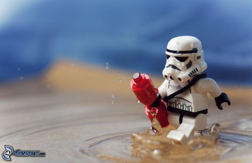 Stormtrooper, Lego, robot, figurita