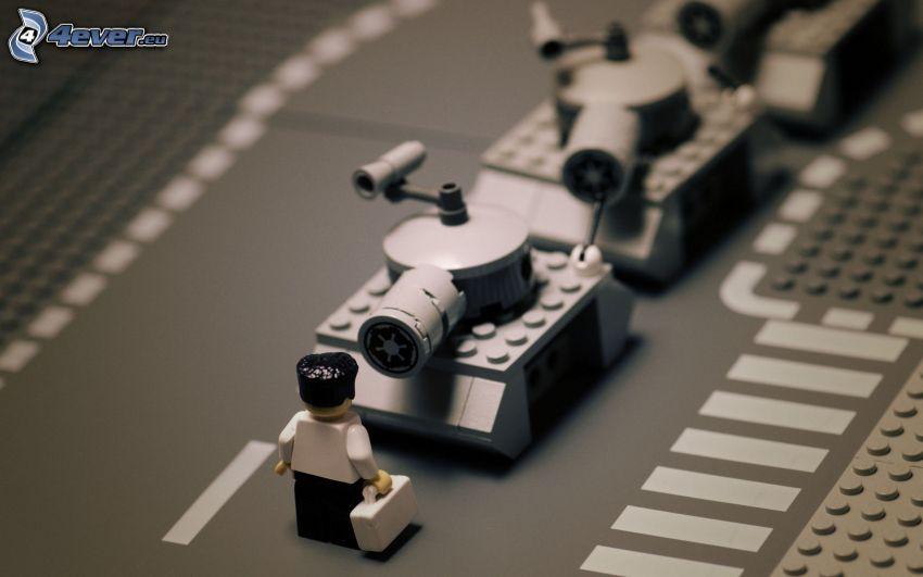 tanques, Lego
