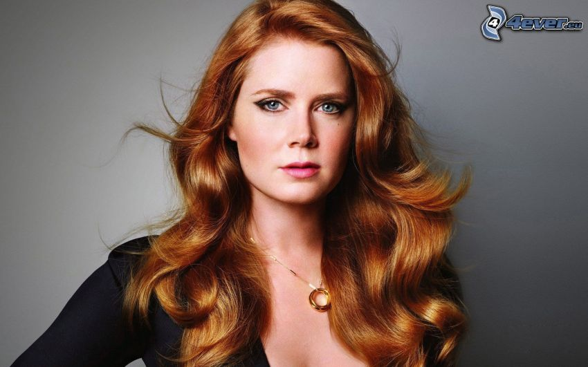 Amy Adams, pelirroja
