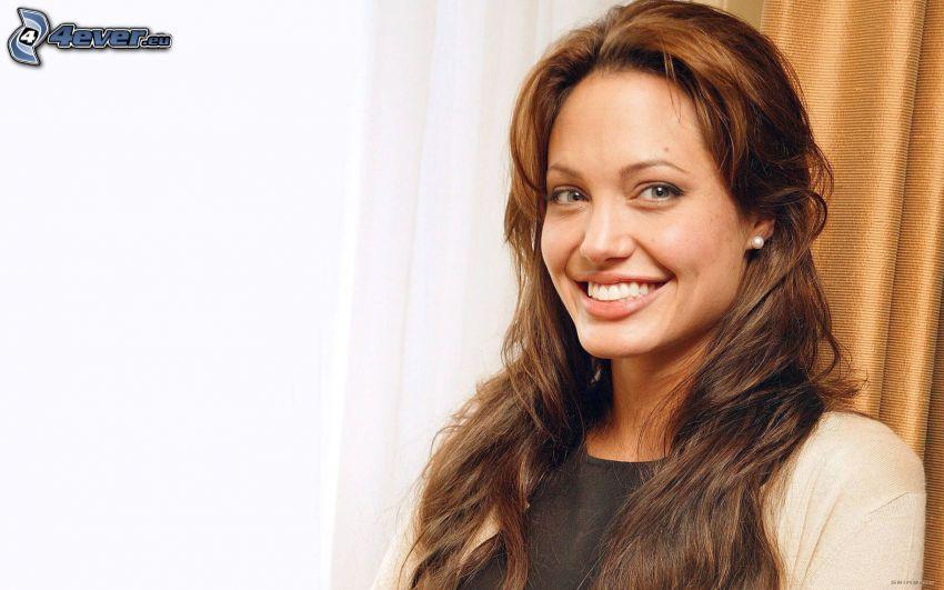Angelina Jolie, actriz, sonrisa