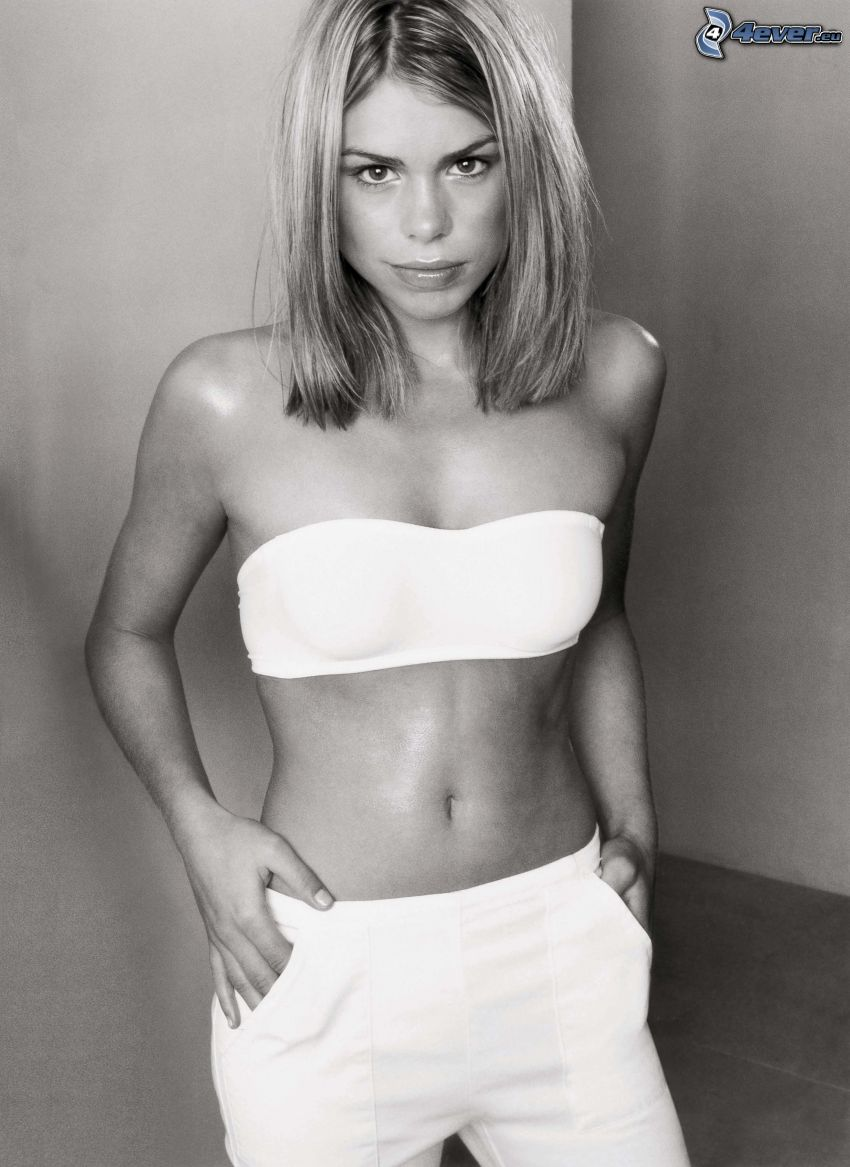 Billie Piper, Foto en blanco y negro