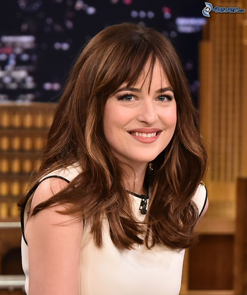 Dakota Johnson, sonrisa