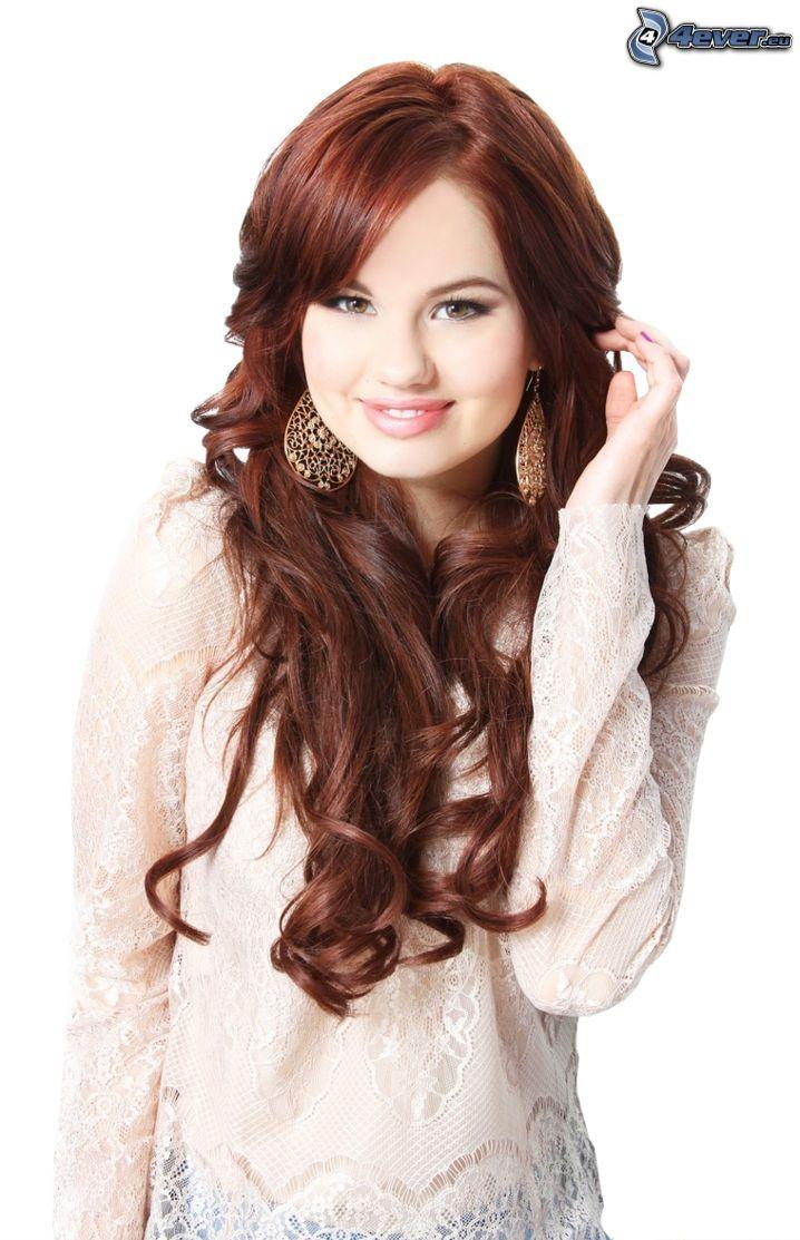Debby Ryan, sonrisa, cabello rizado