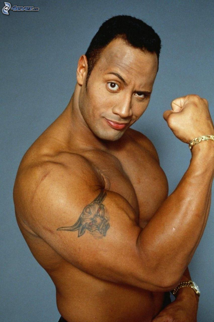 Dwayne Johnson, musculatura