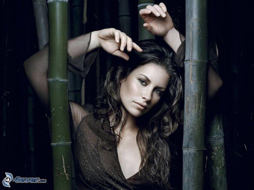 Evangeline Lilly, bambú