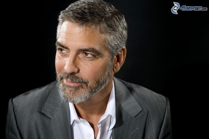 George Clooney, bigote
