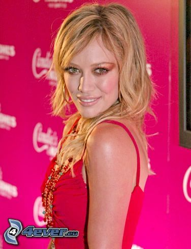Hilary Duff, cantante, actriz