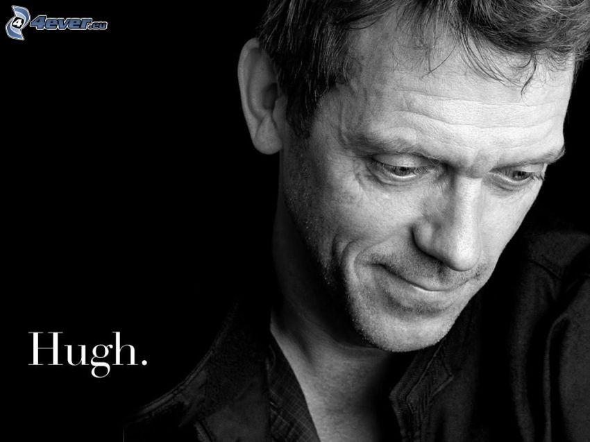 Hugh Laurie, Foto en blanco y negro