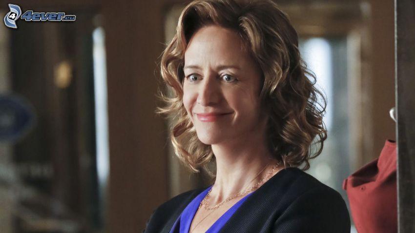 Janet McTeer, sonrisa