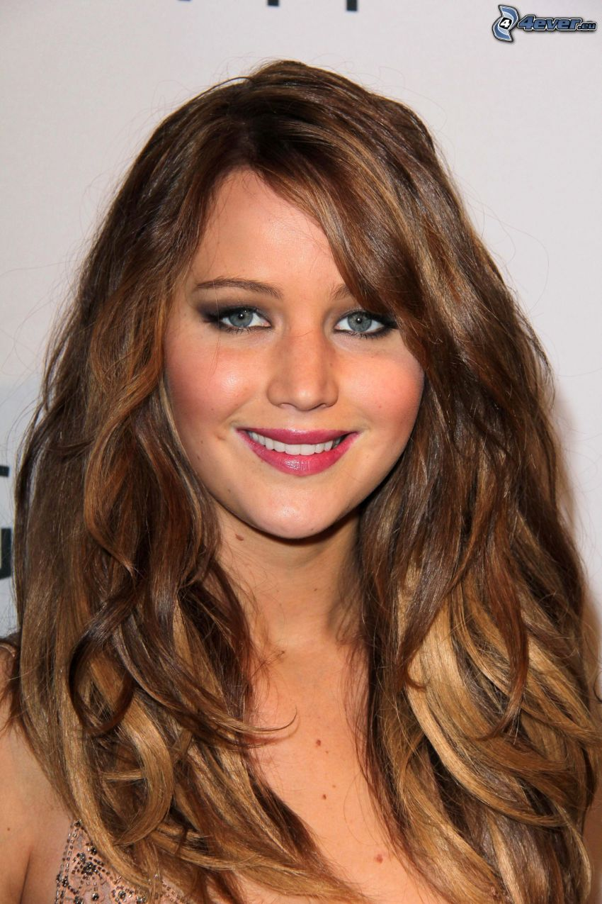 Jennifer Lawrence, sonrisa