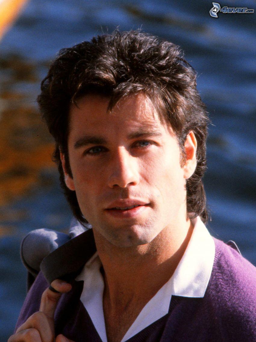 John Travolta, de jóvenes