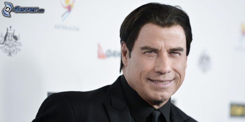 John Travolta, sonrisa