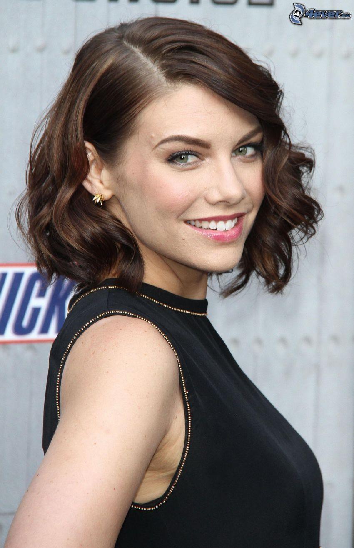 Lauren Cohan, sonrisa