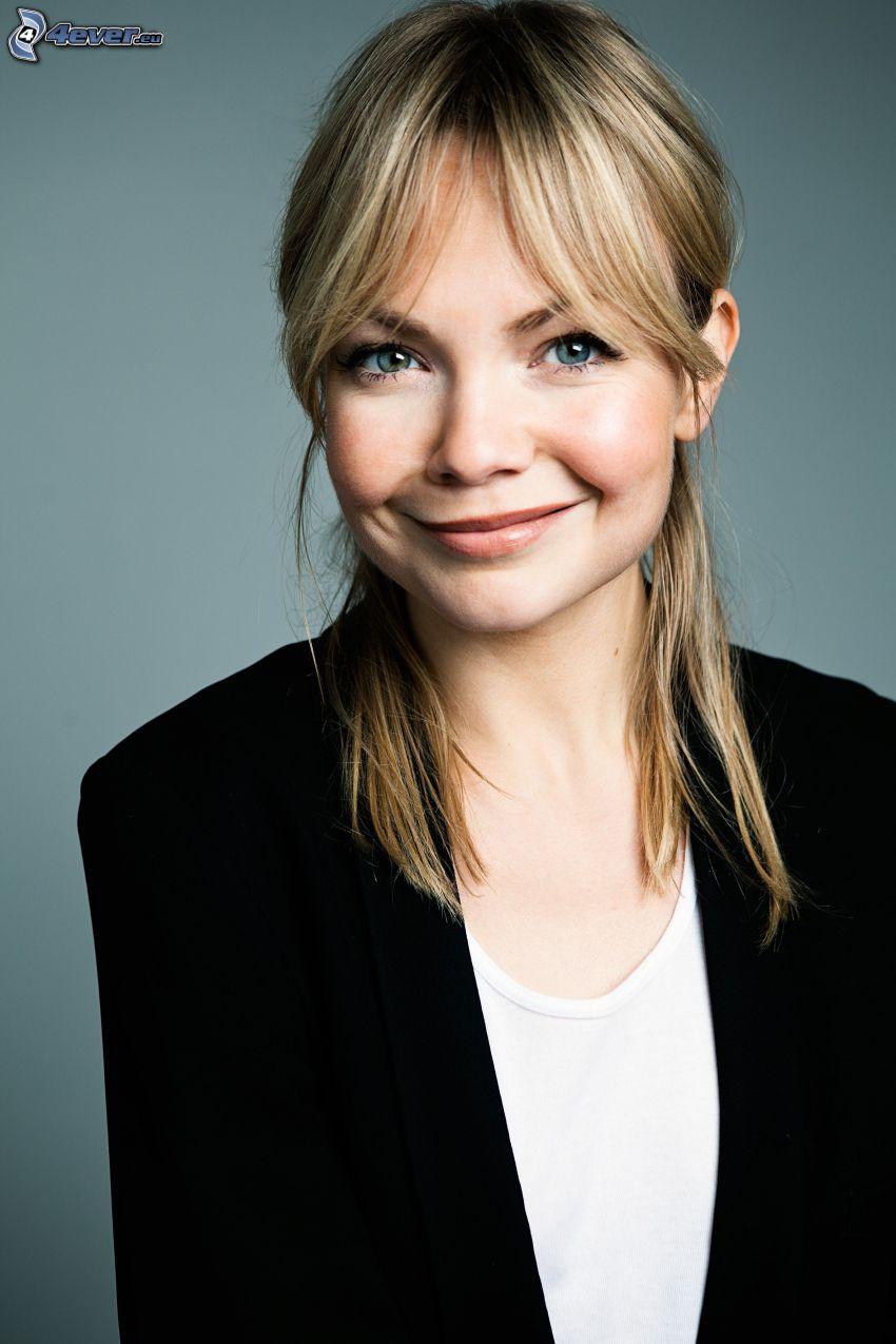 Marie Robertson, sonrisa