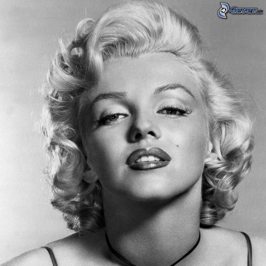 Marilyn Monroe, Foto en blanco y negro