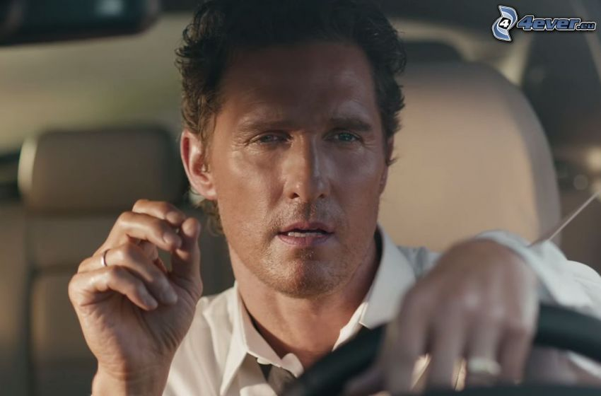 Matthew McConaughey, coche