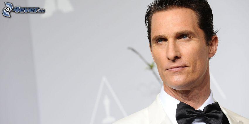 Matthew McConaughey, corbata de lazo