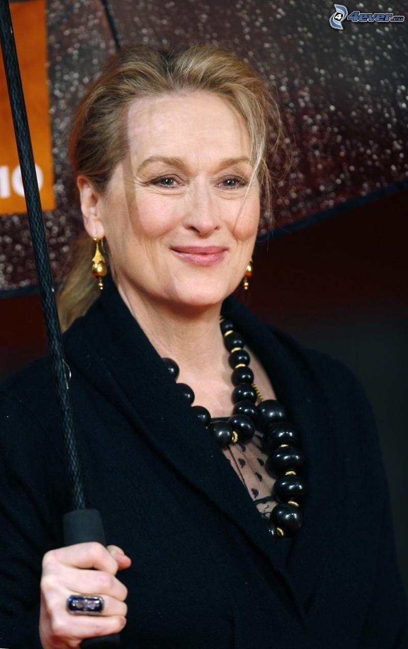 Meryl Streep, paraguas