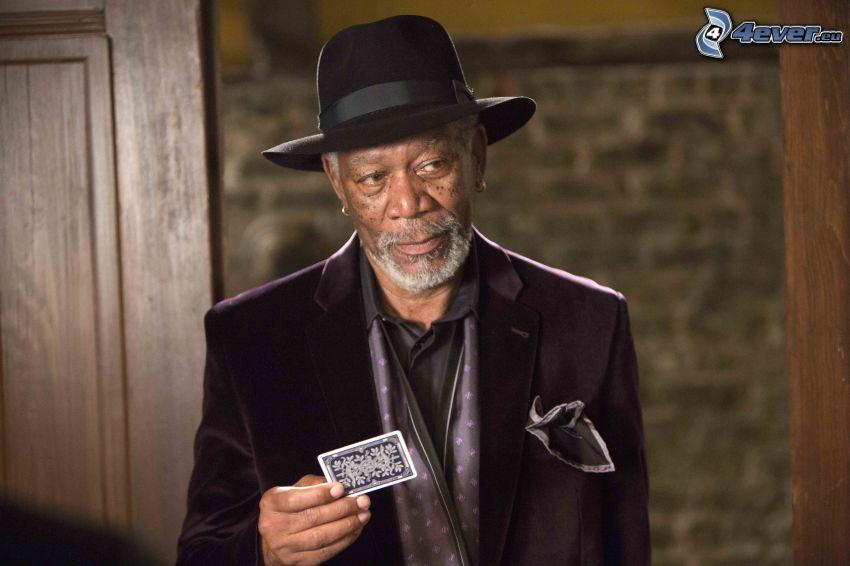 Morgan Freeman, tarjeta