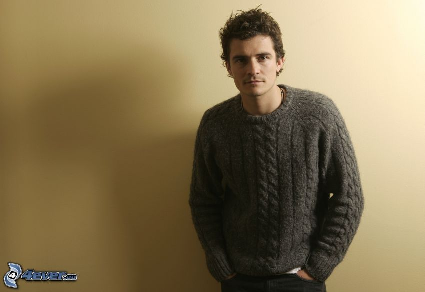 Orlando Bloom, suéter