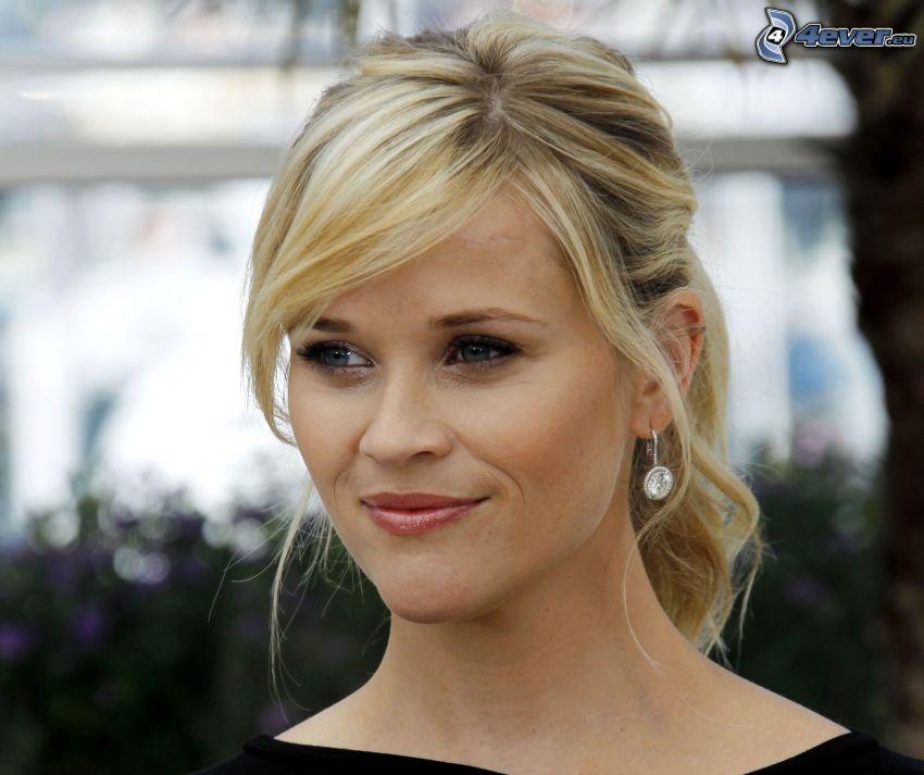 Reese Witherspoon, cola de caballo, mirada