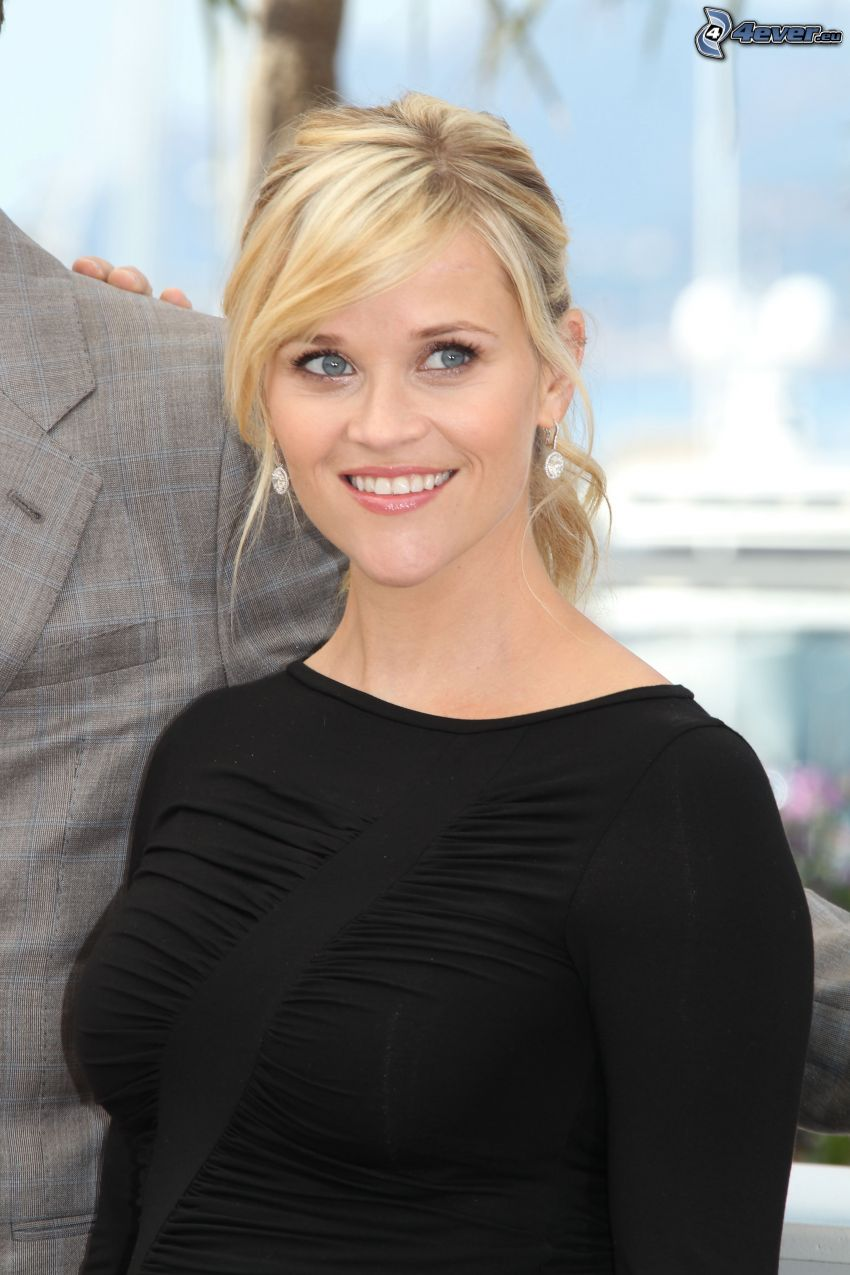 Reese Witherspoon, sonrisa, mirada