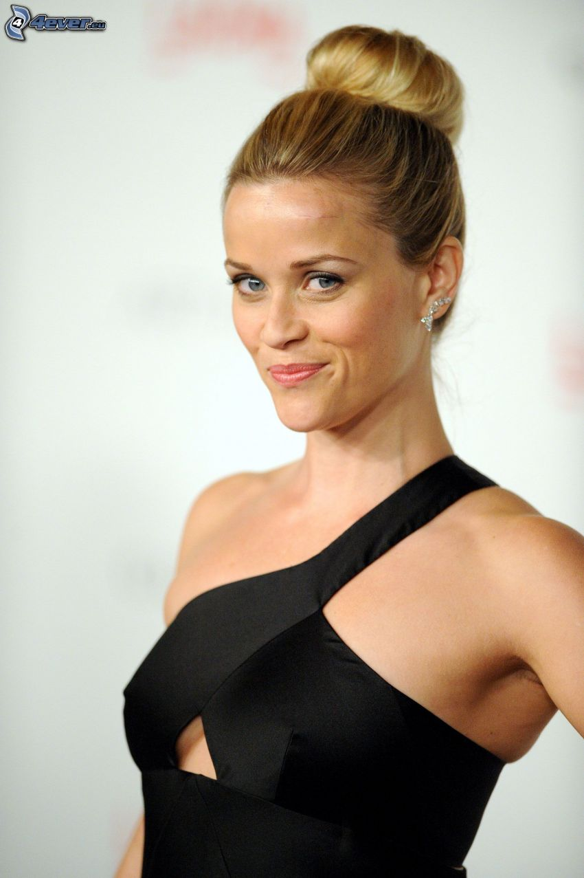Reese Witherspoon, vestido negro