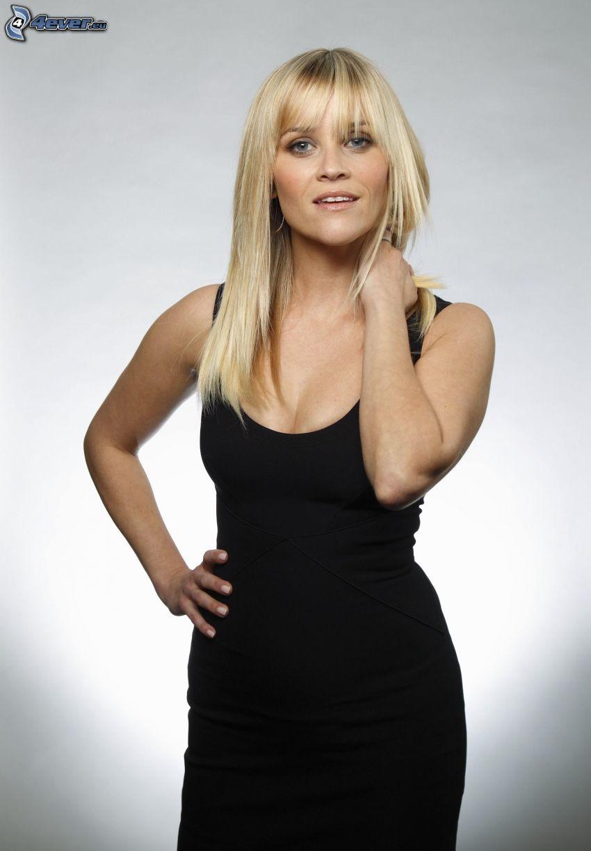 Reese Witherspoon, vestido negro