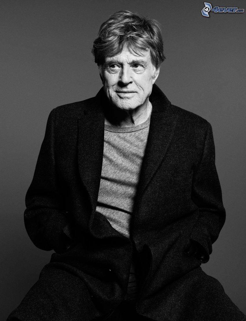 Robert Redford, Foto en blanco y negro