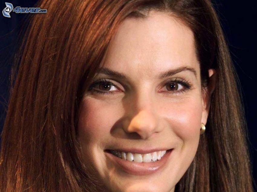Sandra Bullock, sonrisa
