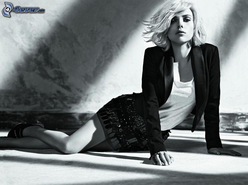 Scarlett Johansson, Foto en blanco y negro