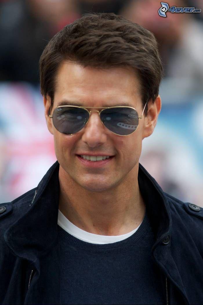 Tom Cruise, el hombre con las gafas, gafas de sol