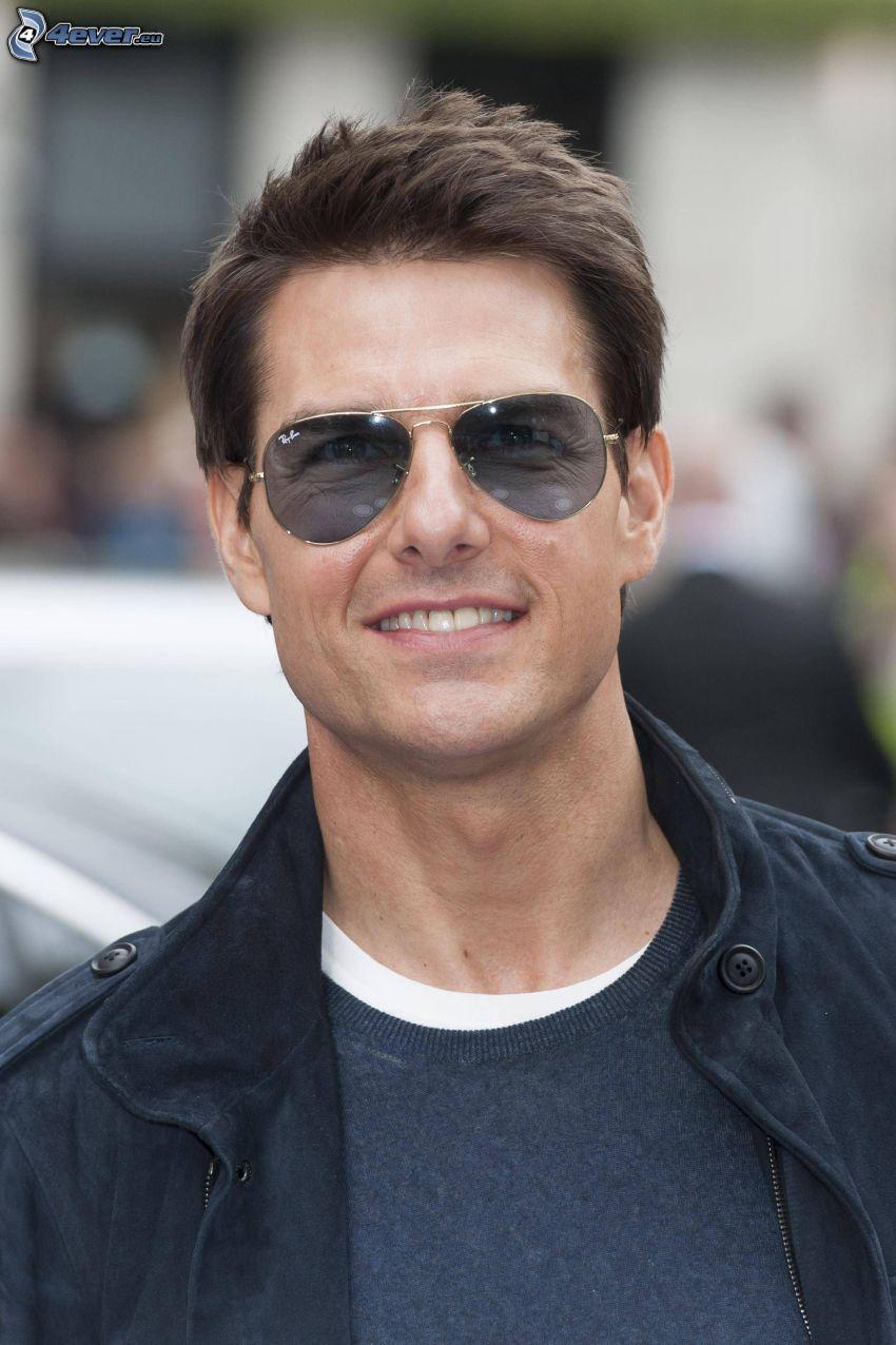 Tom Cruise, gafas de sol, el hombre con las gafas