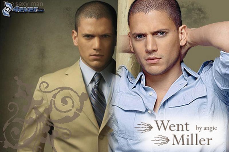 Wentworth Miller, Prison Break, hombre