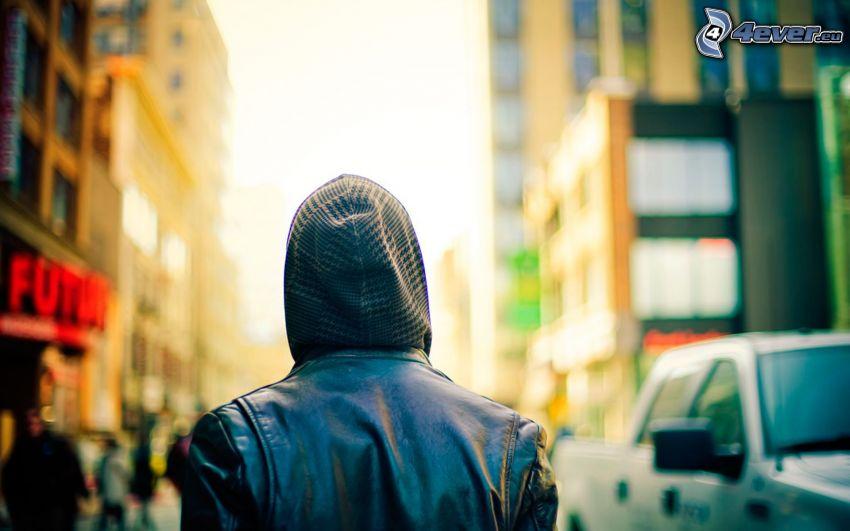 hombre, calle
