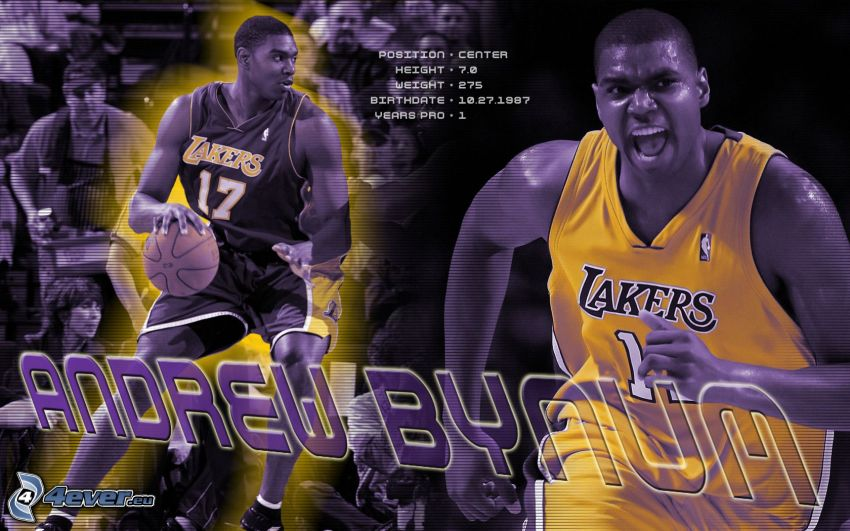 Andrew Bynun, LA Lakers, NBA, el baloncestista
