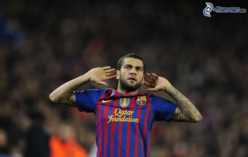 Daniel Alves, futbolista
