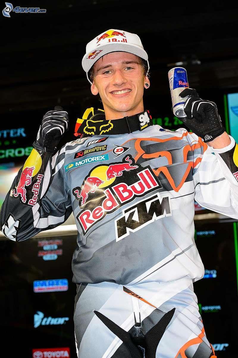 Ken Roczen, alegría, Red Bull