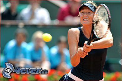 Maria Sharapova, jugadora de tenis