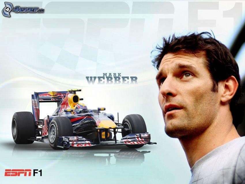Mark Weber, Fórmula 1, monoposto
