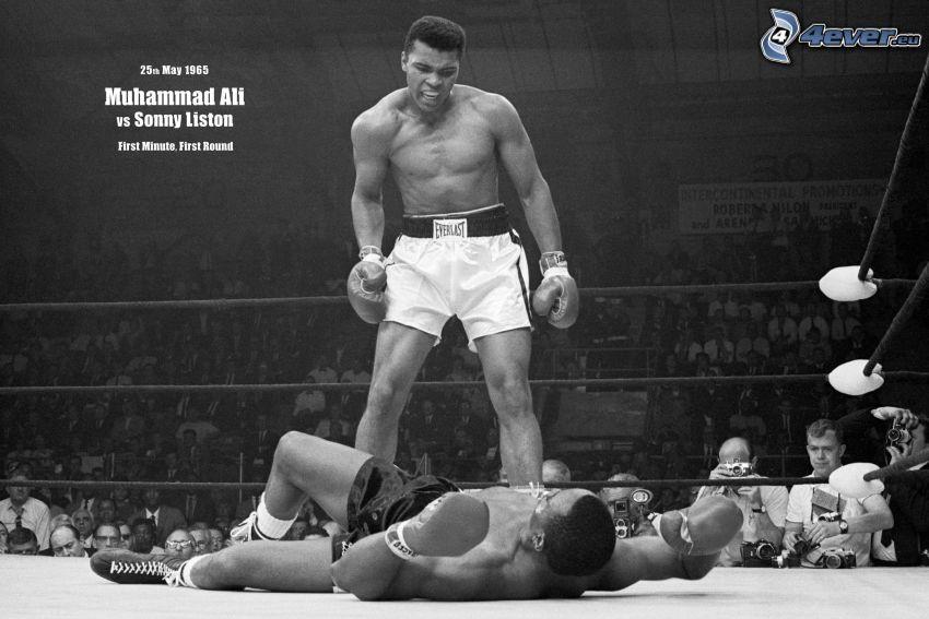 Muhammad Ali, Sonny Liston, wrestling