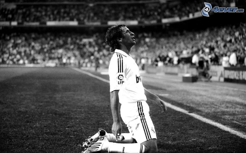 Raúl, Real Madrid, futbolista, estadio